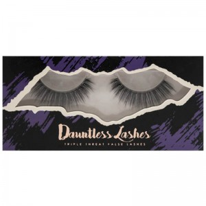 LASplash Cosmetics - False Eyelashes - Dauntless Synthetic Mink Lashes - 15826 Saucy