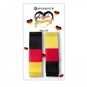 essence - Accessoires - get loud, germany! - flag clip 01 - 1 team, 1 traum