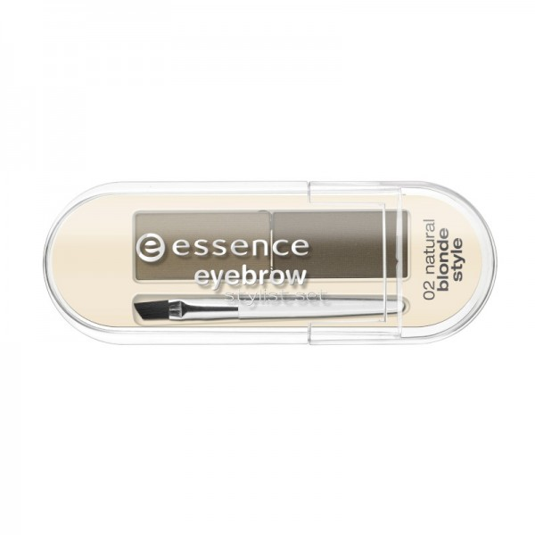 essence - Augenbrauen Set - eyebrow stylist set - 02 natural blonde style