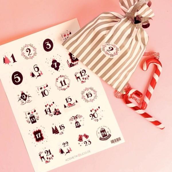 lenibeauty - DIY Adventskalenderset 4 - DIY Advent Calendar Set