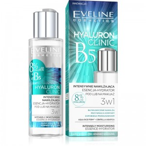 Eveline Cosmetics - Serum - Hyaluron Clinic feuchtigkeitsspendende Essence 3In1