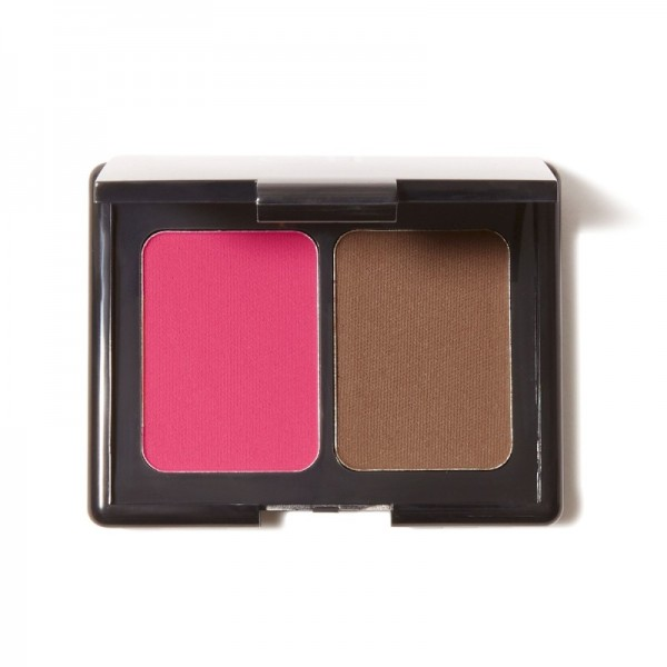 e.l.f. - Makeup Palette - Aqua Infused Blush & Bronzer - Bronzed Violet