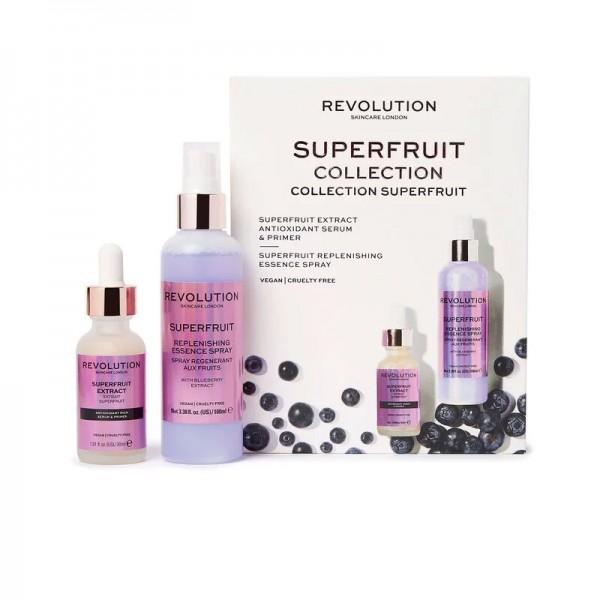 Revolution - Hautpflegeset - Revolution Skincare Superfruit Serum & Primer