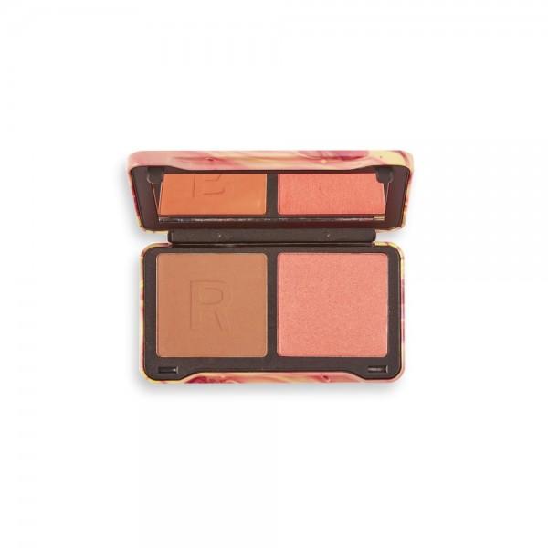 Revolution - Gesichtspalette - Neon Heat Dynamic Face Palette - Peach Heat
