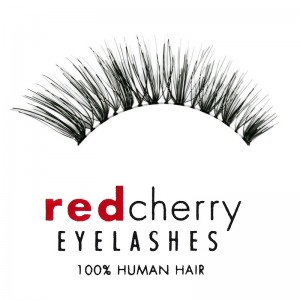 Red Cherry - Falsche Wimpern - Nude Onyx - Echthaar