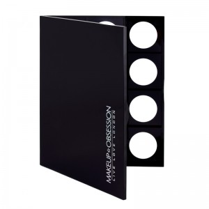 Makeup Obsession - Leerpalette - Large Basic Total Black Obsession Palette