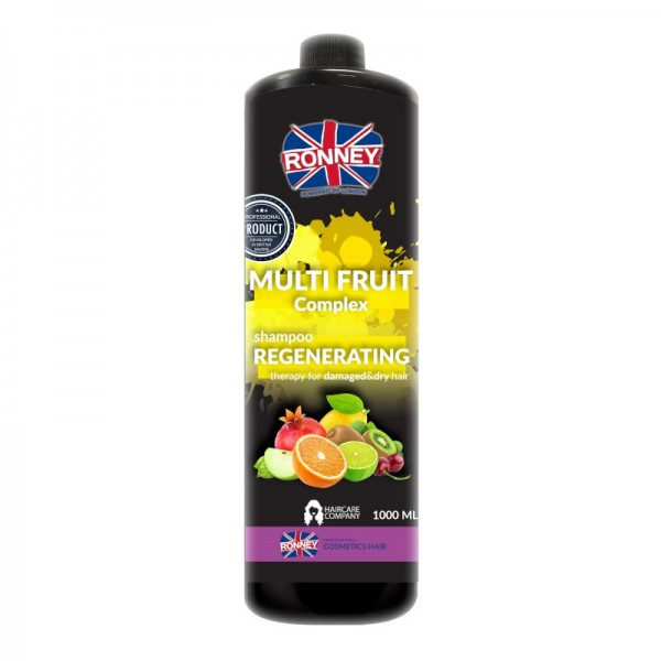 Ronney Professional - Haarshampoo - Multi Fruit Complex Regenerating Therapy Shampoo - 1000ml