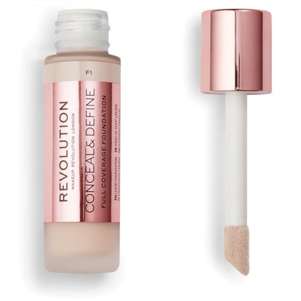 Makeup Revolution - Foundation - Conceal & Define Foundation F1