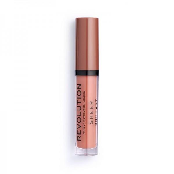Revolution - Flüssiger Lippenstift - Sheer Lip - Sugar Coated 108