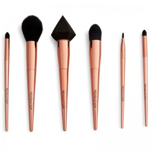 Revolution - Kosmetikpinselset - Reloaded Rose Gold Brush Set