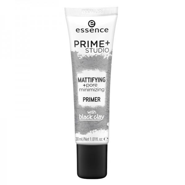 essence - Face Primer - prime+ studio mattifying + pore minimizing primer