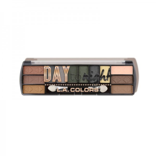 LA Colors - Day to Night (12 Color Eyeshadow) - Sunrise