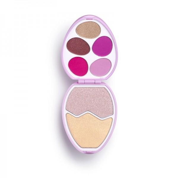 I Heart Revolution - Lidschattenpalette - Face And Shadow Palette - Easter Egg - Candy