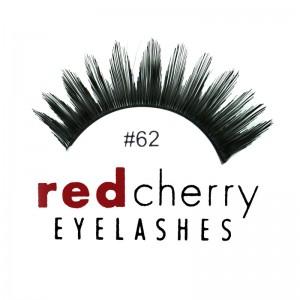 Red Cherry - Falsche Wimpern Nr. 62 Gigi - Echthaar