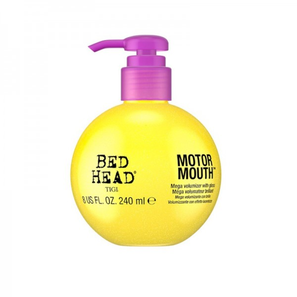 TIGI Bed Head - Leave-in Stylingcreme - Motor Mouth Mega Volumizer with Gloss - 240ml