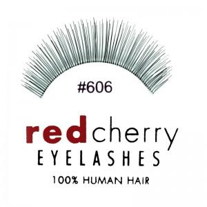 Red Cherry - False Eyelashes No. 606 Annabelle - Human Hair