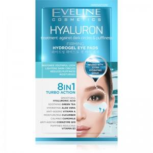 Eveline Cosmetics - Hyaluron Hydrogel Eye Pads 8In1 2Pcs