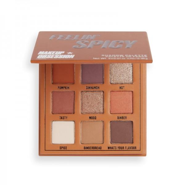 Makeup Obsession - Lidschattenpalette - Feelin Spicy Shadow Palette - Mini