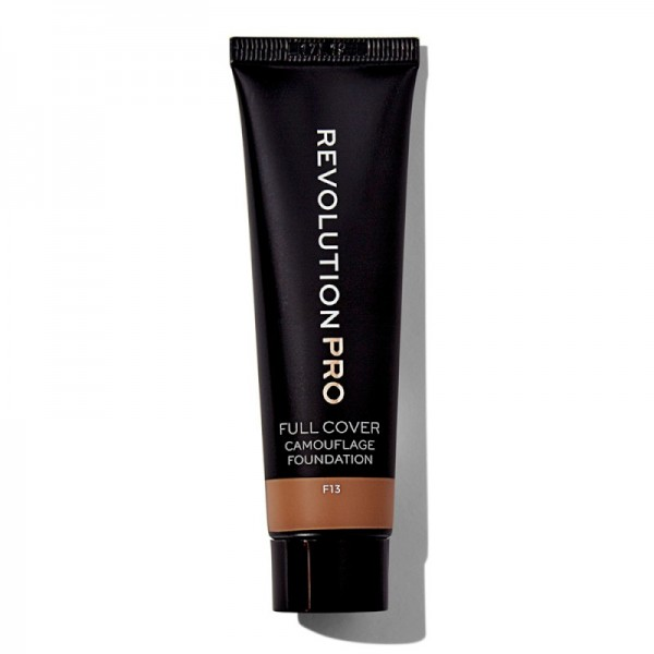 Revolution Pro - Full Cover Camouflage Foundation - F13