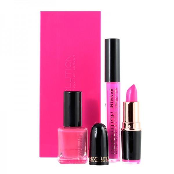 Makeup Revolution - Geschenkset - Colour Blocks - Pink