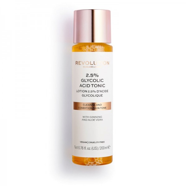 Revolution - Hautpflege - Skincare 2.5% Glycolic Acid Toner