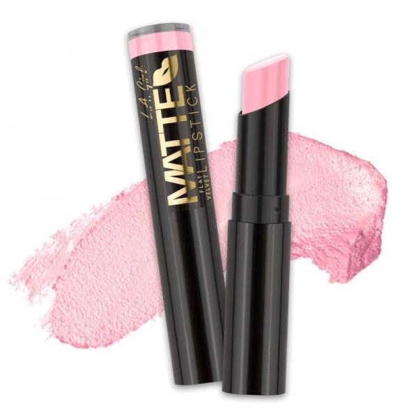 L.A. Girl - Lippenstift - Matte Velvet Lipstick - 802 - Carried Away