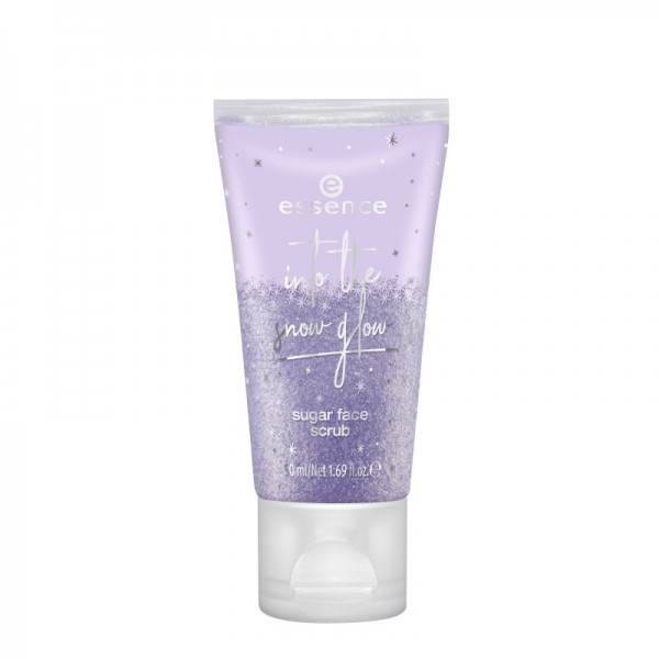 essence - Gesichtspeeling - into the snow glow - sugar face scrub 01