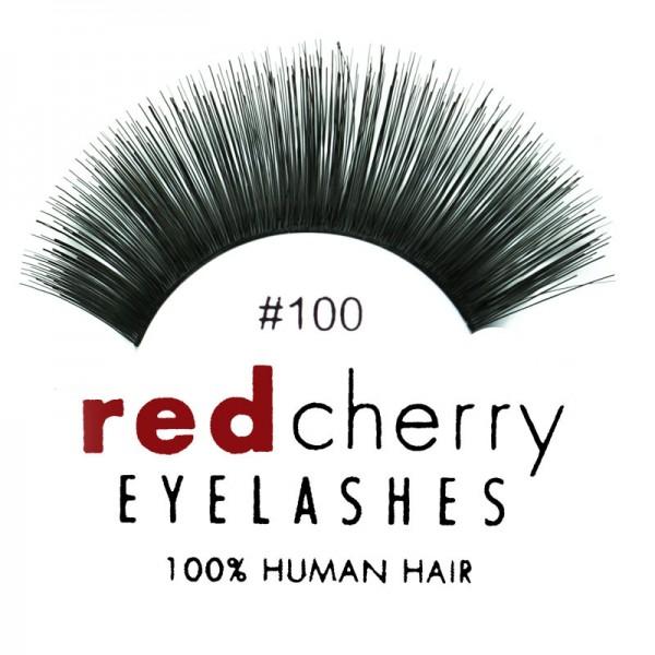 Red Cherry - Falsche Wimpern Nr. 100 Cali - Echthaar
