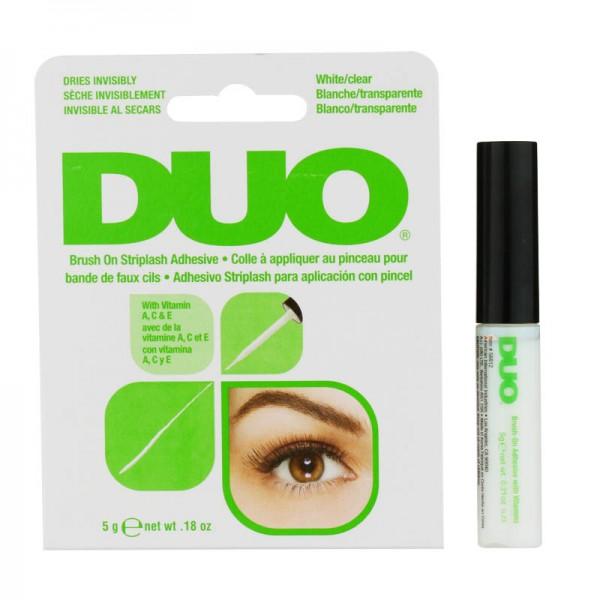 DUO - Wimpernkleber für Wimpernbänder - Brush On Striplash Adhesive with vitamins - Transparent