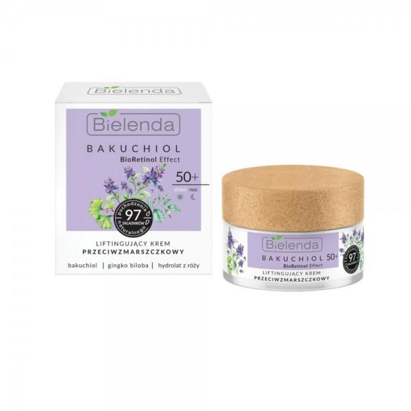 Bielenda - Gesichtscreme - Bakuchiol BioRetinol Effect - Lifting Antiwrinkle Face Cream day/night -