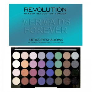 Makeup Revolution - Eyeshadow Palette - Mermaids Forever