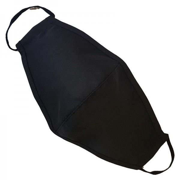 lenipro - Stoffmaske - Wiederverwendbar - Schwarz