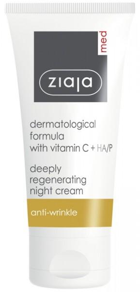 Ziaja Med - Regenerierende Nachtpflege - Formula With Vitamin C Regenerating Night Cream