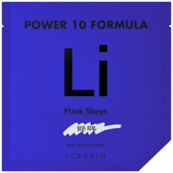 Its Skin - Gesichtsmaske - Power 10 Formula LI Mask Sheet