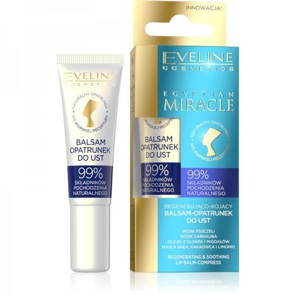 Eveline Cosmetics - Lippenpflege - Egyptian Miracle Regenerating & Soothing Lip Balm-Compress