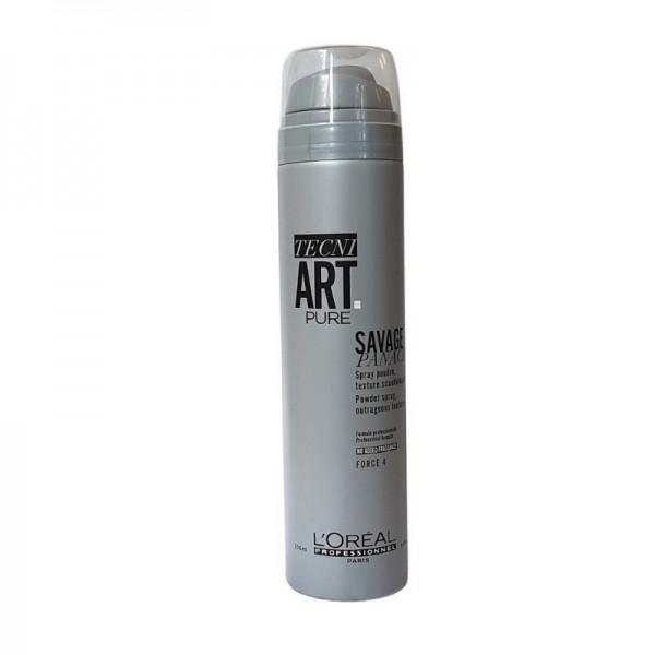 Loreal Professionnel - Tecni Art Pure Savage Panache Powder Spray - 250ml
