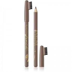 Eveline Cosmetics - Eyebrow Pencil With Brush - Blonde