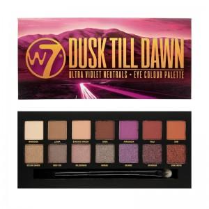 W7 Cosmetics - Lidschattenpalette - Ultra Violet Neutrals - Dusk Till Dawn