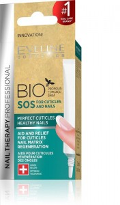 Eveline Cosmetics - Nail Therapy Bio Sos For Cuticles And Nails 12Ml
