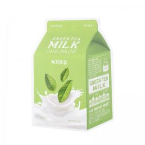 APIEU - Gesichtsmaske - Green Tea Milk One-Pack