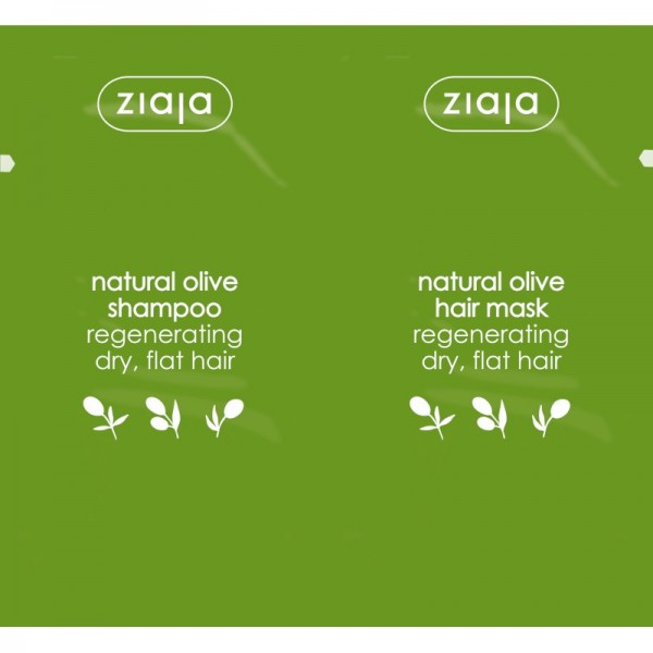 Ziaja - Duo Natural Olive Shampoo + Hair Mask