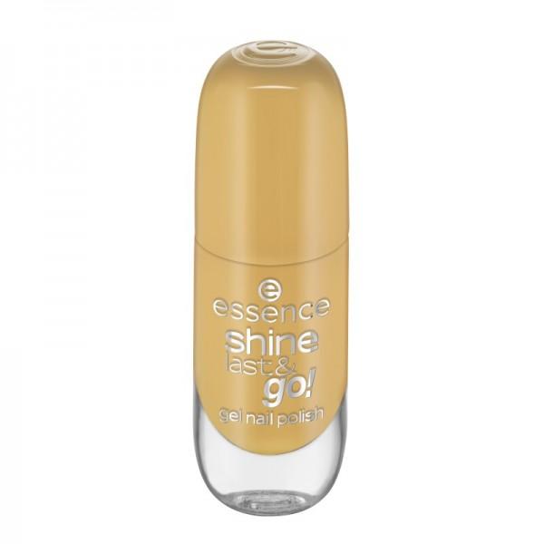 essence - Nagellack - shine last & go! gel nail polish 62 - Walking On Sunshine