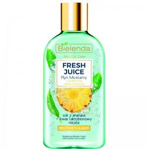 Bielenda - Mizellenwasser - Fresh Juice Brightening Micellar Liquid With Bioactive Citrus Water Pine