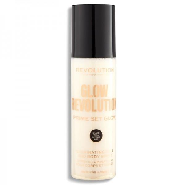 Revolution - Glow Revolution - Illuminating Face & Body Spray - Eternal Gold