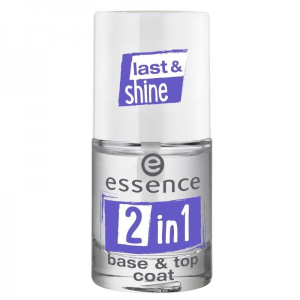 essence - Top Coat - 2in1 base & top coat