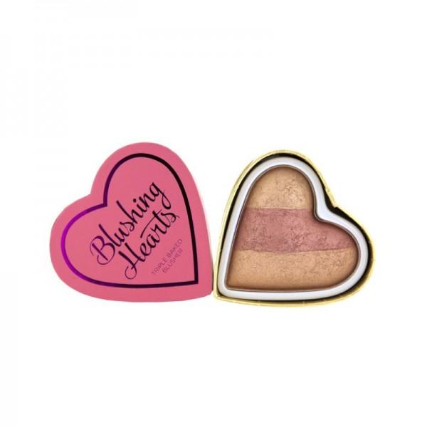 I Heart Makeup - Blushing Hearts - Peachy Keen Heart