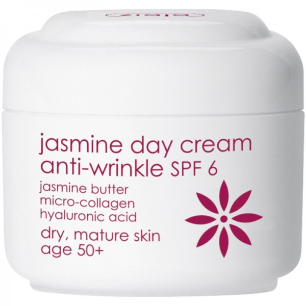 Ziaja - Gesichtscreme - Jasmine Day Cream Anti-Wrinkle SPF 6