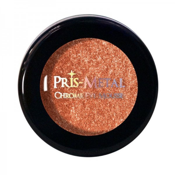 J.Cat - Lidschatten - Pris-Metal Chrome Eye Mousse - Orange Burst