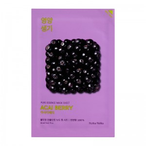 Holika Holika - Gesichtsmaske - Pure Essence Mask Sheet - Acai Berry
