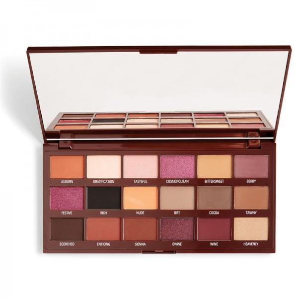I Heart Revolution - Eyeshadow Palette - Cranberries & Chocolate Palette